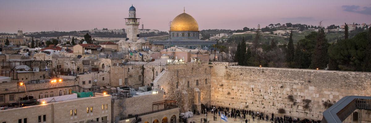 Bli med til Israel og gå i bibelske fotspor. Fly fra Haugesund!